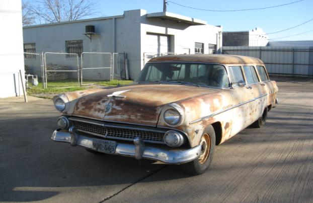 1955 Ford Station Wagon Resurrection and Modification